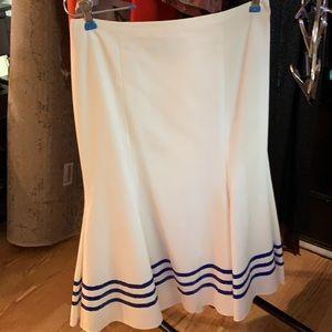 Ralph Lauren Purple Label Linen Skirt
